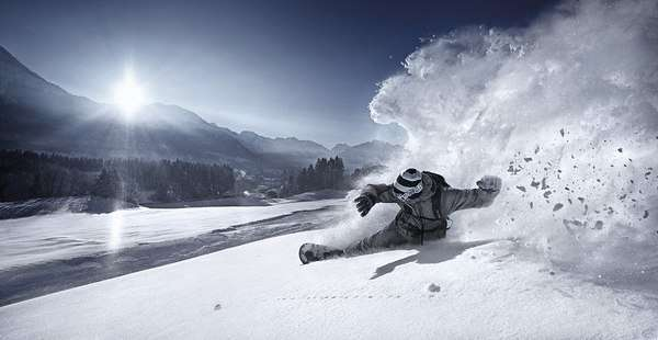 Surreal Snowboard Shoots