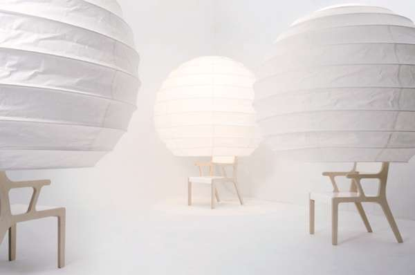 Lantern-Like Seating