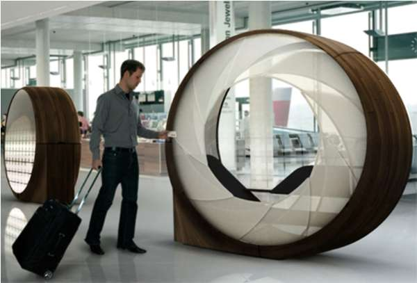 Airport Relaxation Pods Obsideon From Roger Kellenberger