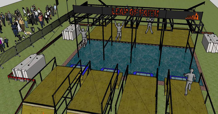 Fan-Designed Obstacle Courses