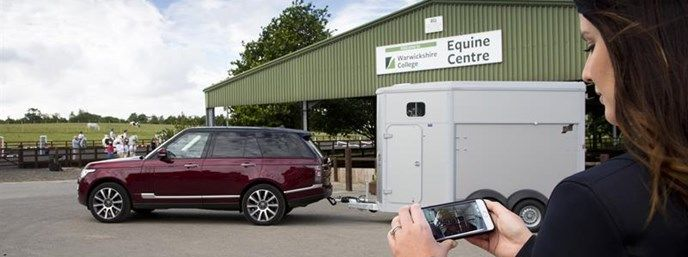 Camera-Equipped Horse Trailers
