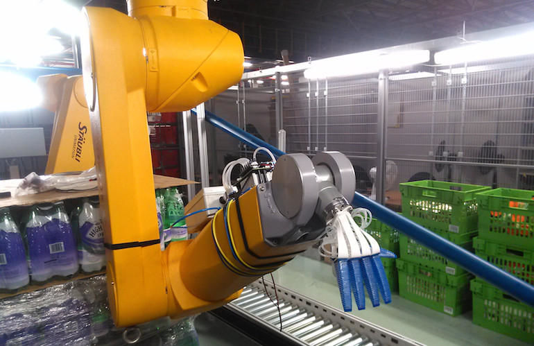 Produce-Packing Robots