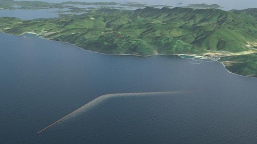 Ocean Cleanup Structures