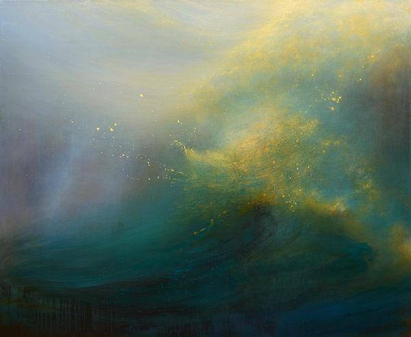 Vivid Volatile Sea Artwork