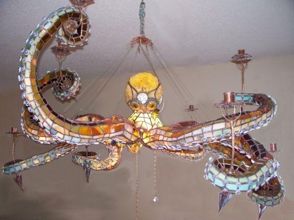 Cephalopod Lighting Fixtures