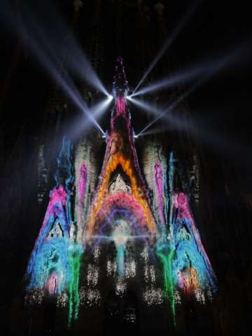 Luminous Gothic Installations