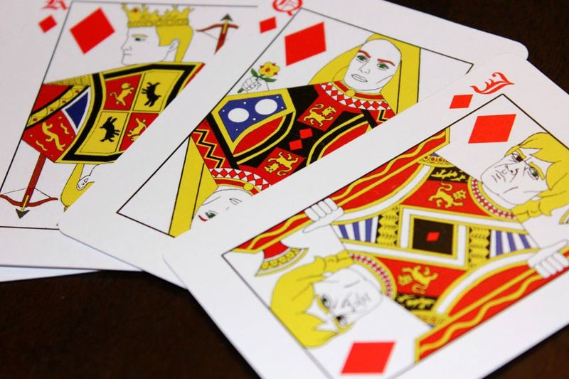 Fantasy TV Playing Cards
