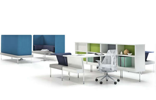 Open-Concept Office Furnishings