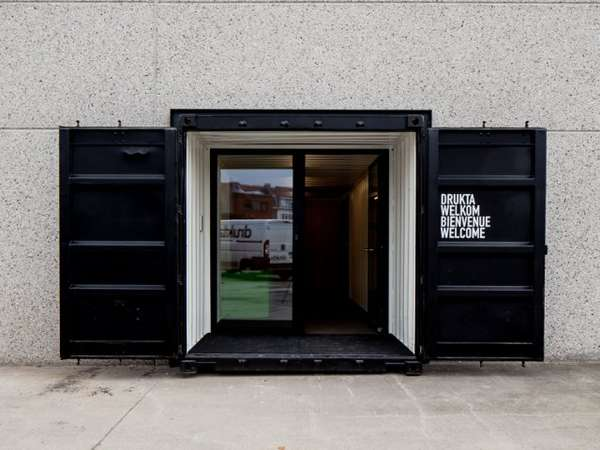 Office Space Design with Shipping Containers