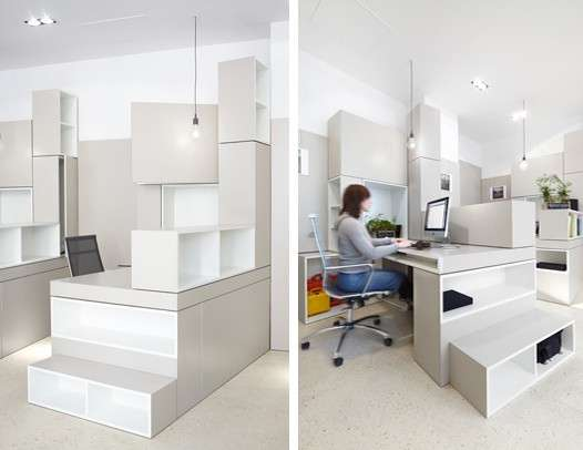 Cubed Cubicle Constructions