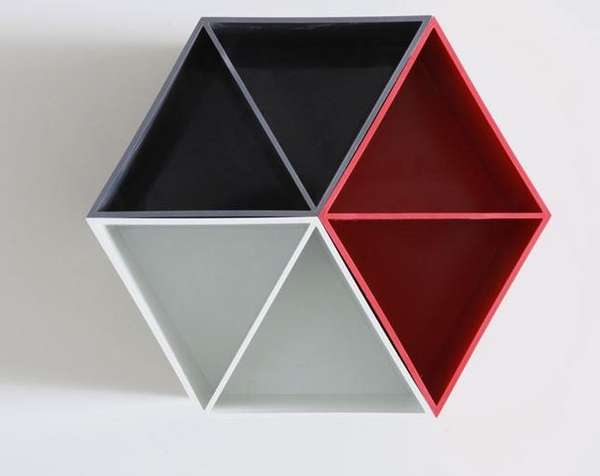 Geometric Pencil Holders