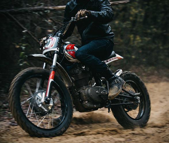 Meticulous Off-Road Motorbikes