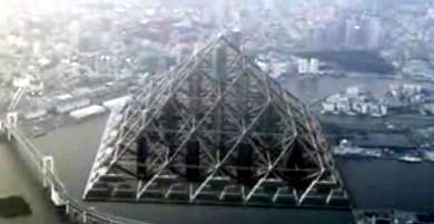 Offshore Megacity The Great Pyramid Of Tokyo