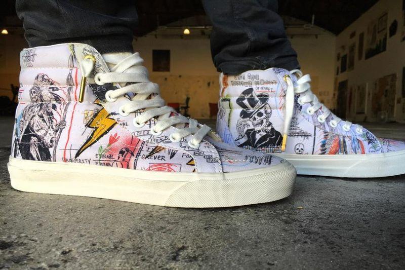 Celebratory Graffiti Sneakers