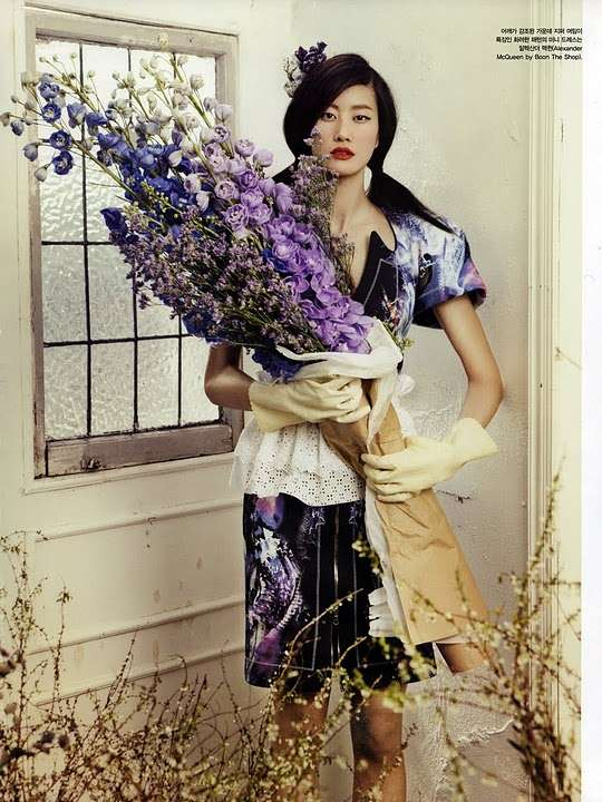 Oh Miss Flower Vogue Korea