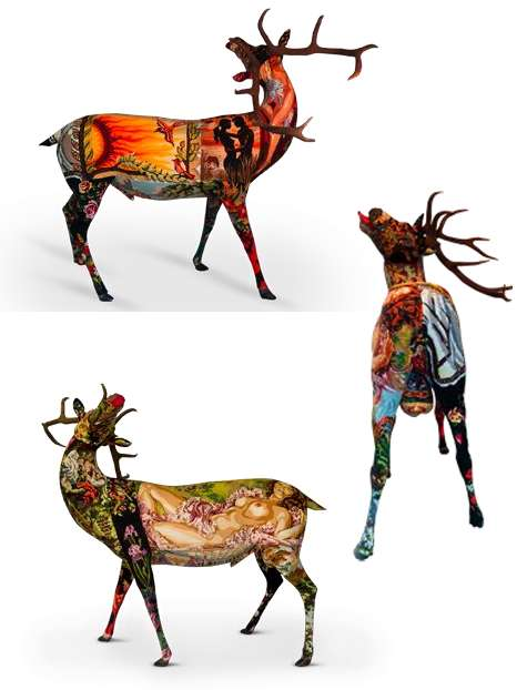 Needlepoint 10-Point Bucks
