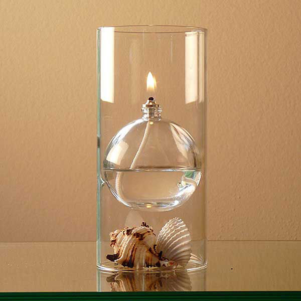 Floating Sphere Oil Lamps