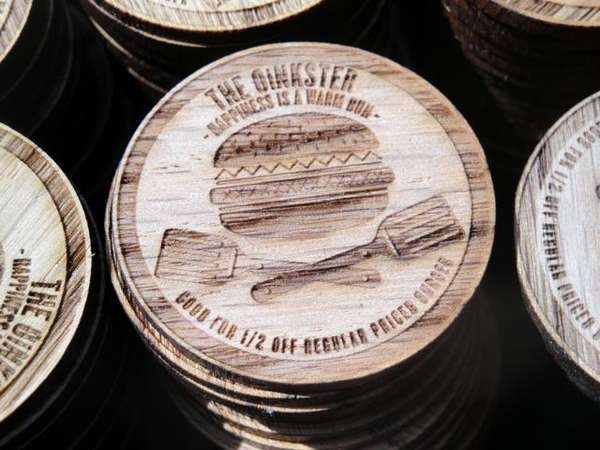 Oinkster Burger Nickels
