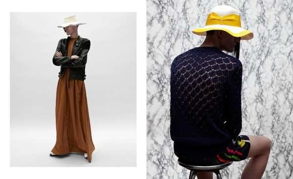 Femininized Menswear Fashion