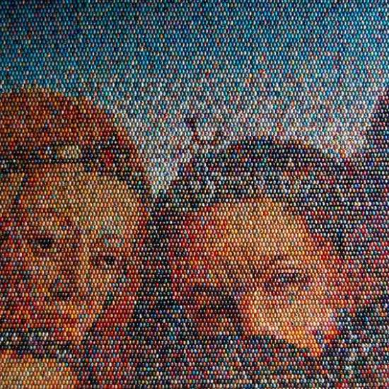 Easter Egg Mosaics