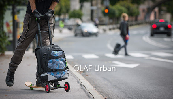 Slick Scootering Suitcases