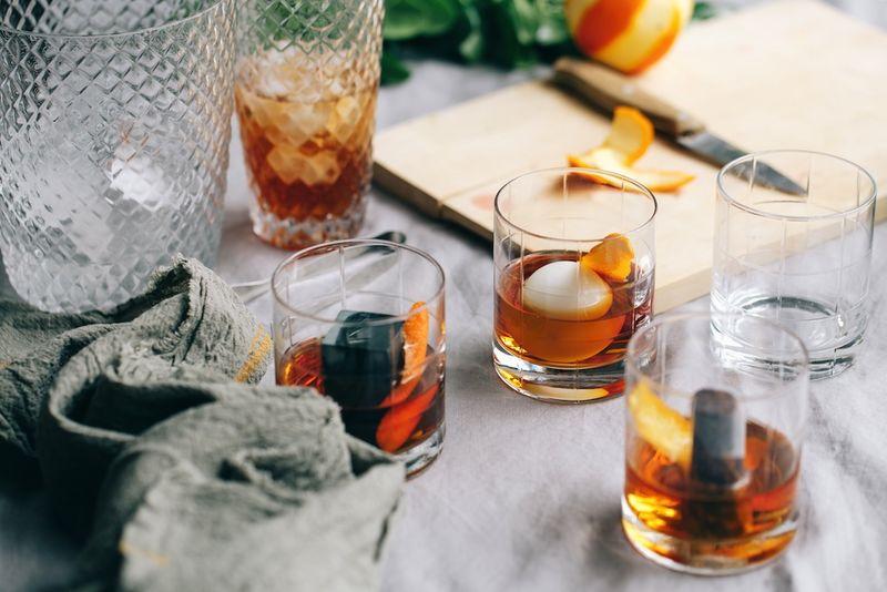 Plum-Infused Classic Cocktails
