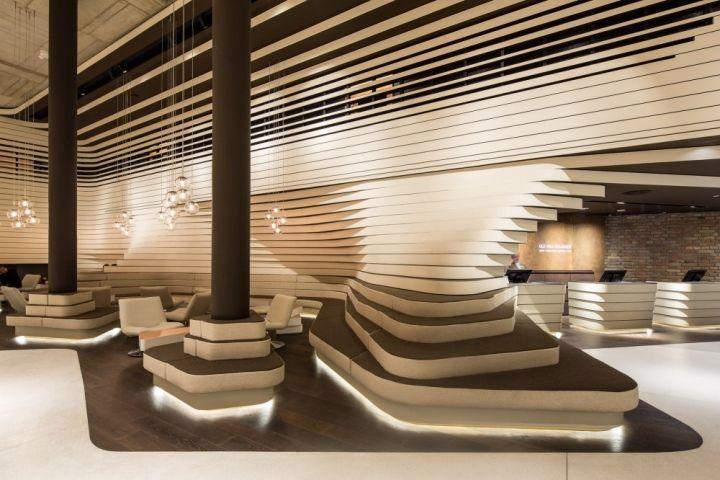 Retrofitted Hotel Lobbies