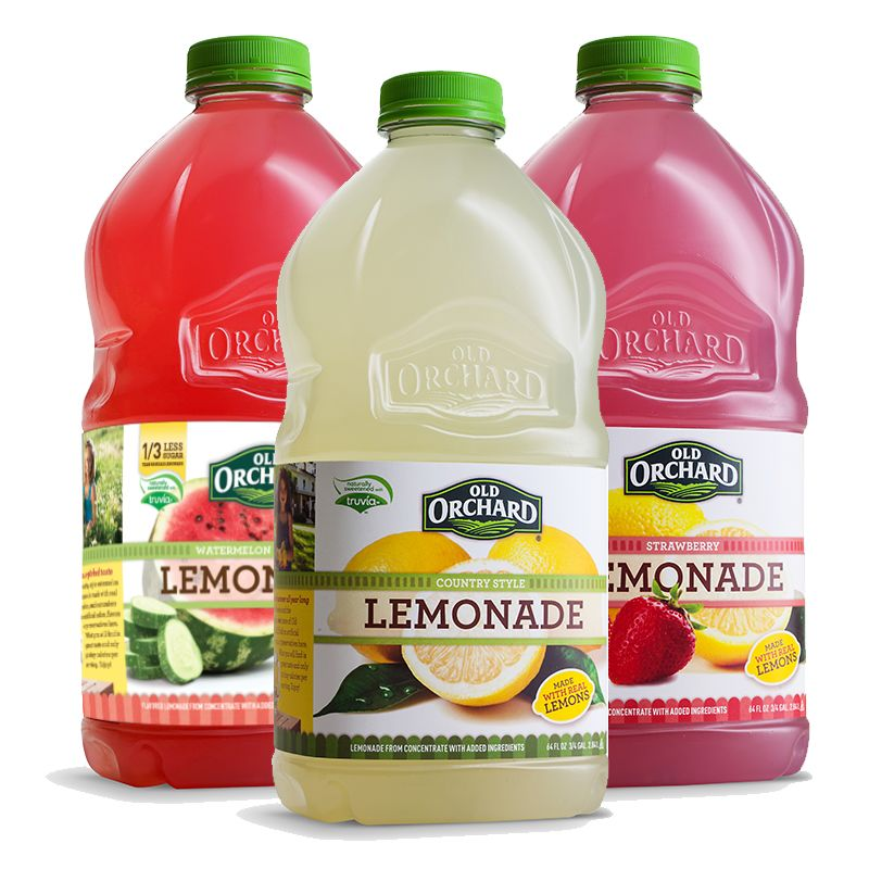 Old Orchard's new seasonal flavors are made with real lemon and lime juices to provide a naturally fresh lemonade stand-quality, the company says. In addition, the lemonades are sweetened with Summer is upon us, and with it comes the year's most refreshing opportunity to enjoy an ice-cold lemonade.