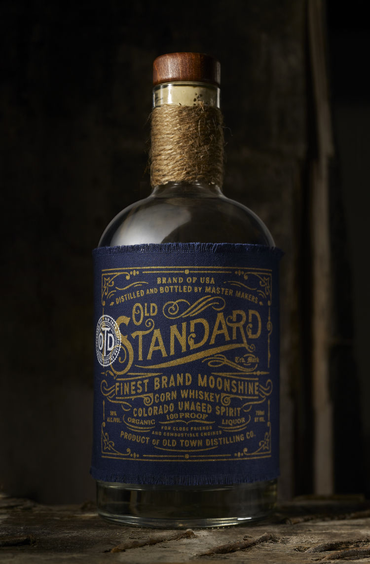 Embroidered Cloth Booze Branding