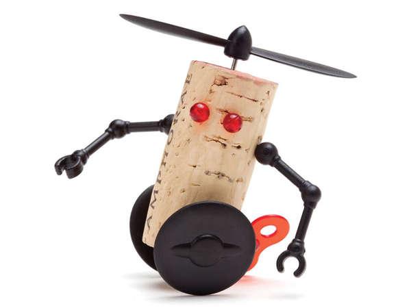 Customized Robotic Cork Toys
