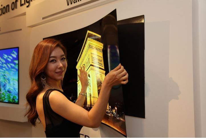 Ultra-Thin Wallpaper TVs