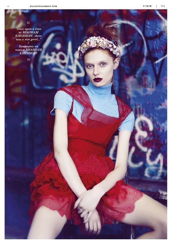 Relaxed Redhead Editorials