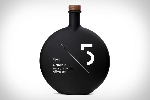 Matte Black Bottle Branding