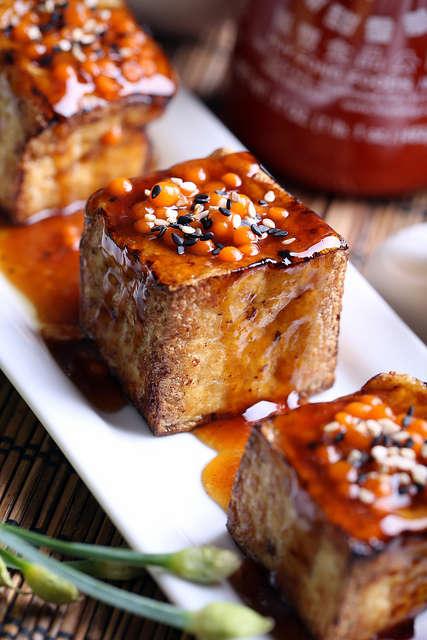 Fiery Tofu Squares