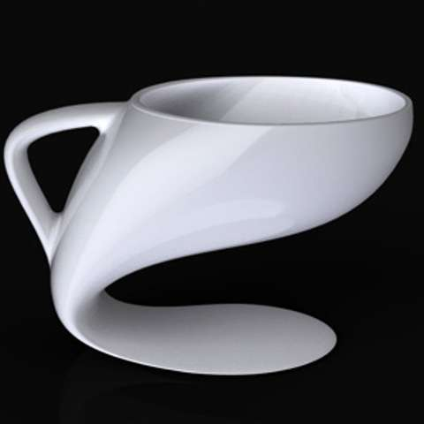 Distorted Drinking Cups