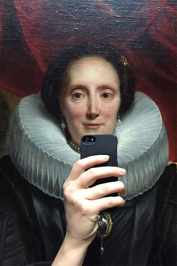 Historical Portrait Selfies