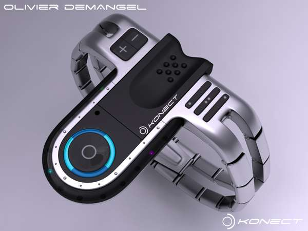 Olivier Demangel's Concept Watch