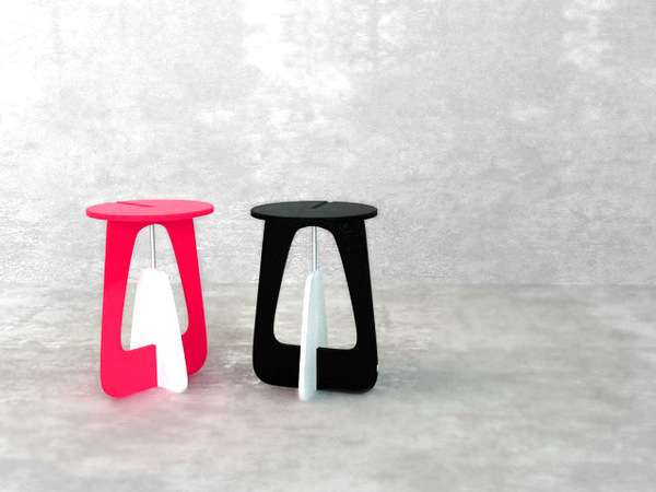 Olly Foldable Stool