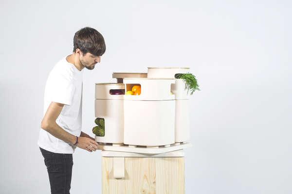 Produce-Concerned Refrigerators
