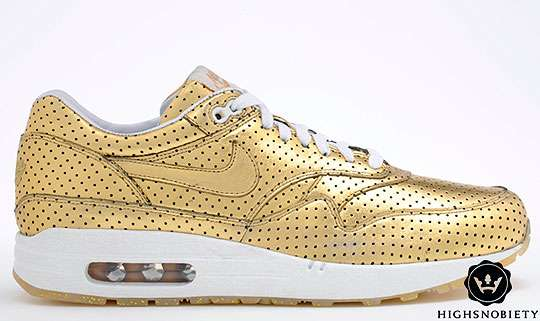 Olympic Lifestyle Gold Shoes