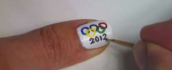 Olympic Nail Art Designs