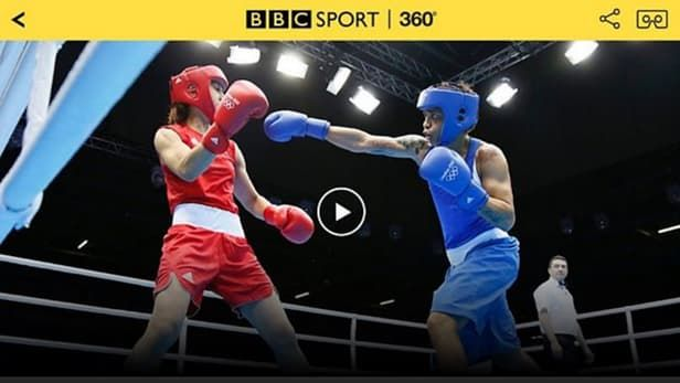 360-Degree Olympics Broadcasts