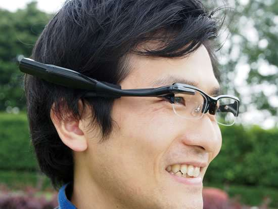 Wearable Display Glasses