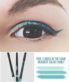 Gorgeous Gradient Eyeliners