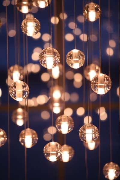 Glowing Bubble Lights Omer Arbel Office Creates Elegant