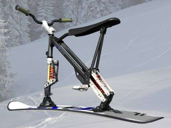 Bike Skis Hybrid Sports Equipment