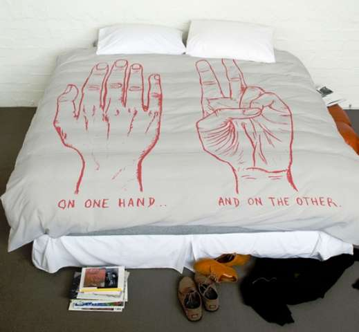 On One Hand Duvet