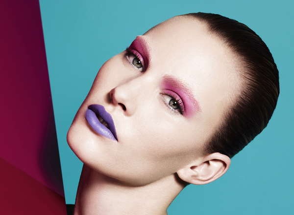 Mismatched Makeup Editorials