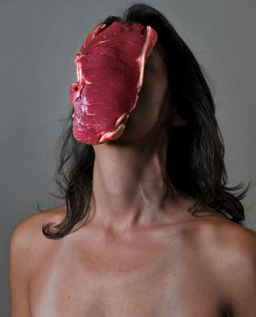 Food-Faced Female Portraits
