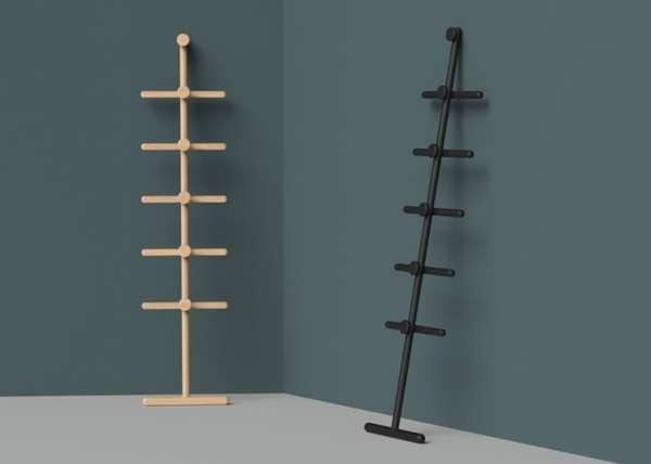 Flat-Pack Minimalist Coat Racks